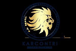 Logo de karcontri, servicios financieros